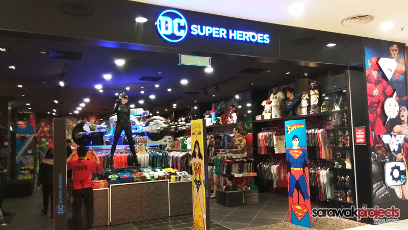 First Dc Comics Super Heroes Store The Spring Kuching