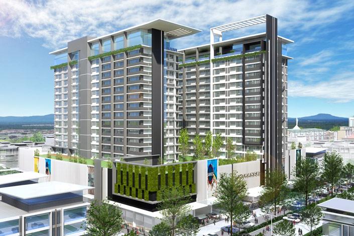 Manhattan SoHo Apartments @ MetroCity Square, Kuching